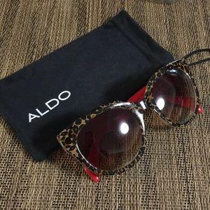 Aldo leopard print sunglasses